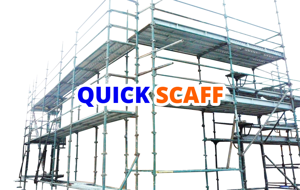 Quick Scaff also known as Quick Stage Scaffolding is part of our scaffold product range