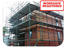 Our Quick Scaff is Worksafe Registered