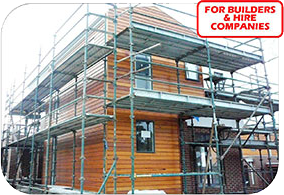 We are the prefered quick stage scaffolding providers for builders and hire companies