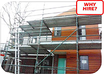 Why hie quick stage scaff when you can buy from a provider near you?